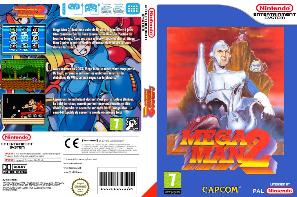 Mega Man 2 Wii coverfullHQ (FDNP)
