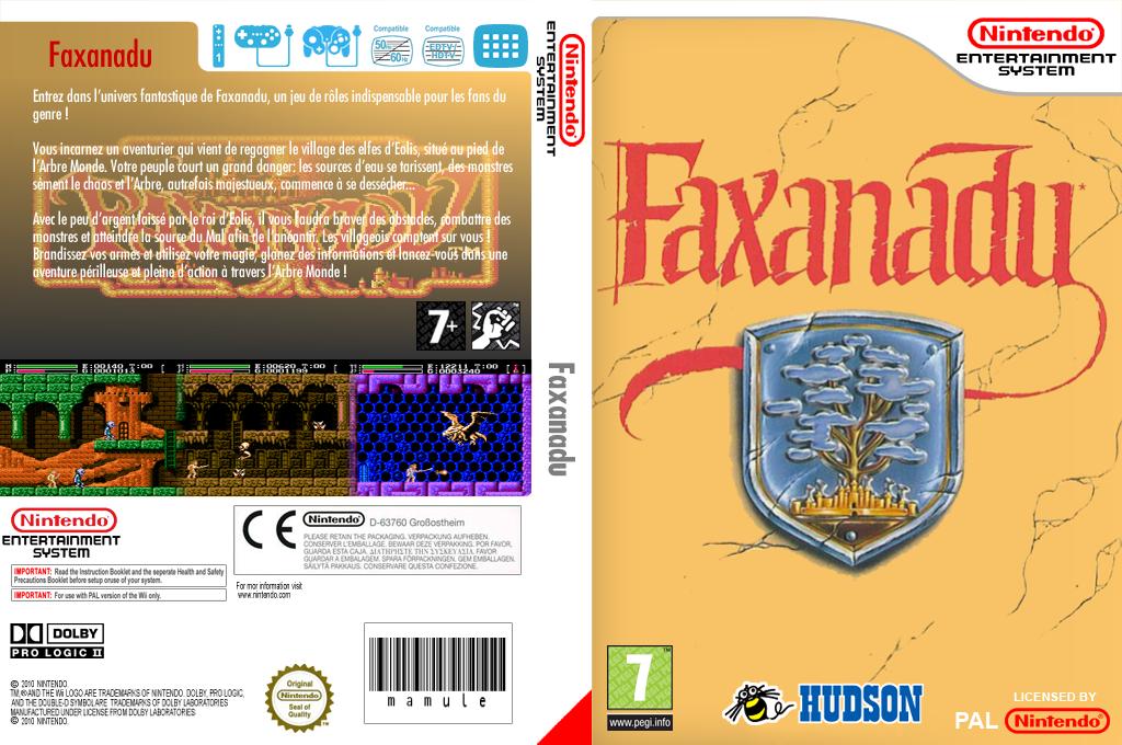 Faxanadu Wii coverfullHQ (FFRP)