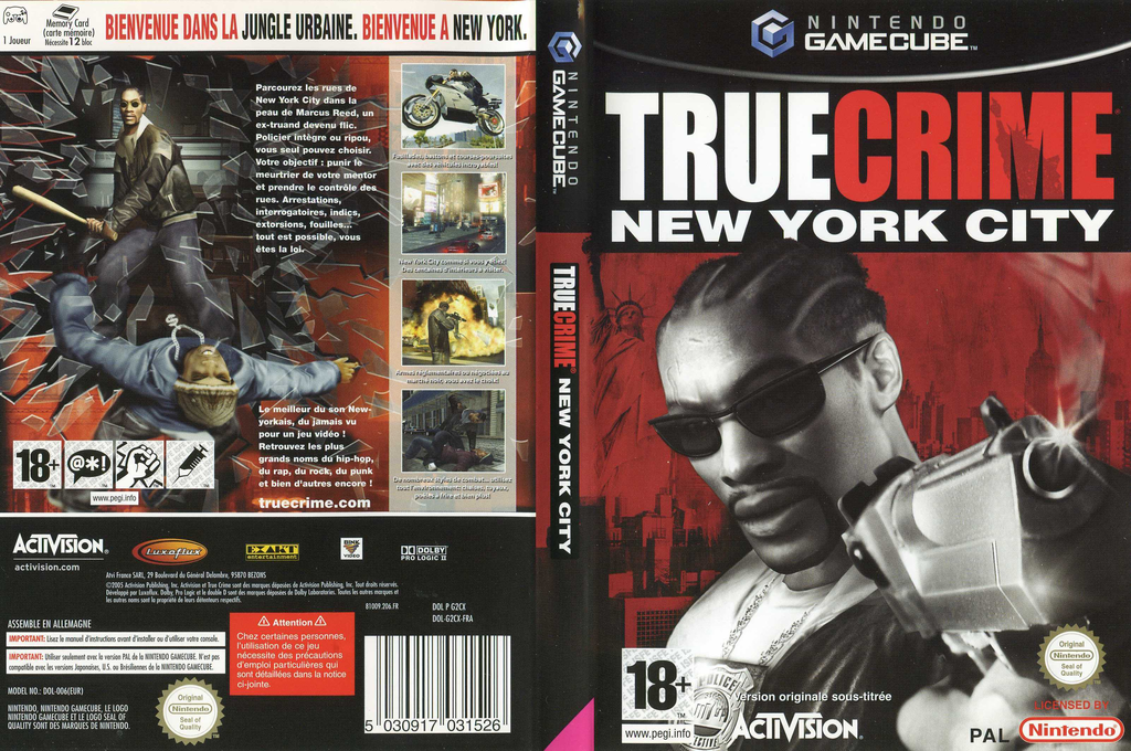 True Crime: New York City Wii coverfullHQ (G2CX52)