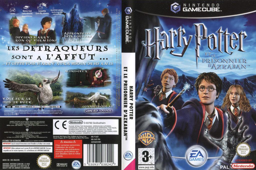 Harry Potter et le Prisonnier d'Azkaban Wii coverfullHQ (GAZF69)