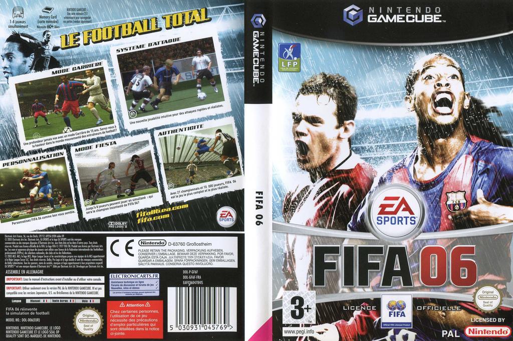 FIFA 06 Wii coverfullHQ (GF6F69)