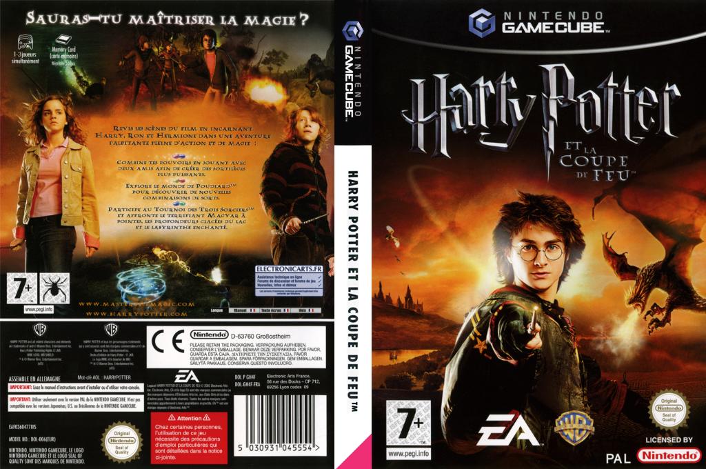 Harry Potter et la Coupe de Feu Wii coverfullHQ (GH4F69)