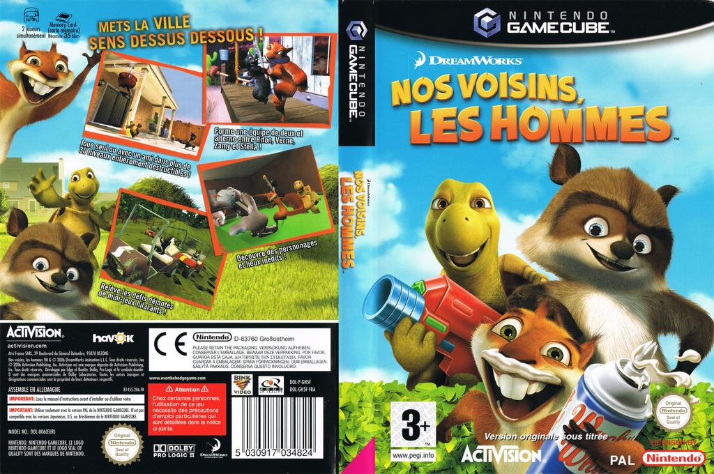 Nos Voisins, les Hommes Wii coverfullHQ (GH5F52)