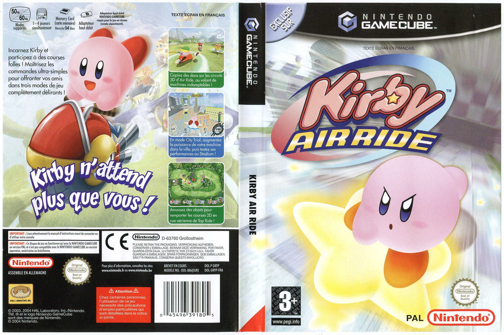 Kirby Air Ride Wii coverfullHQ (GKYP01)