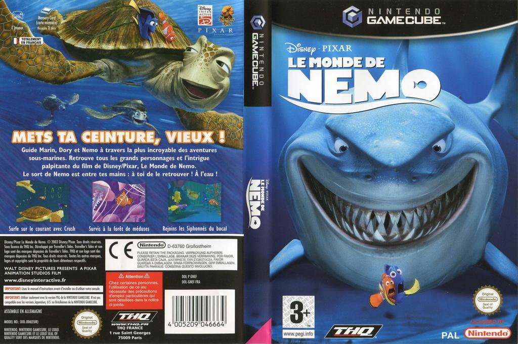 Le Monde De Némo Wii coverfullHQ (GNEF78)