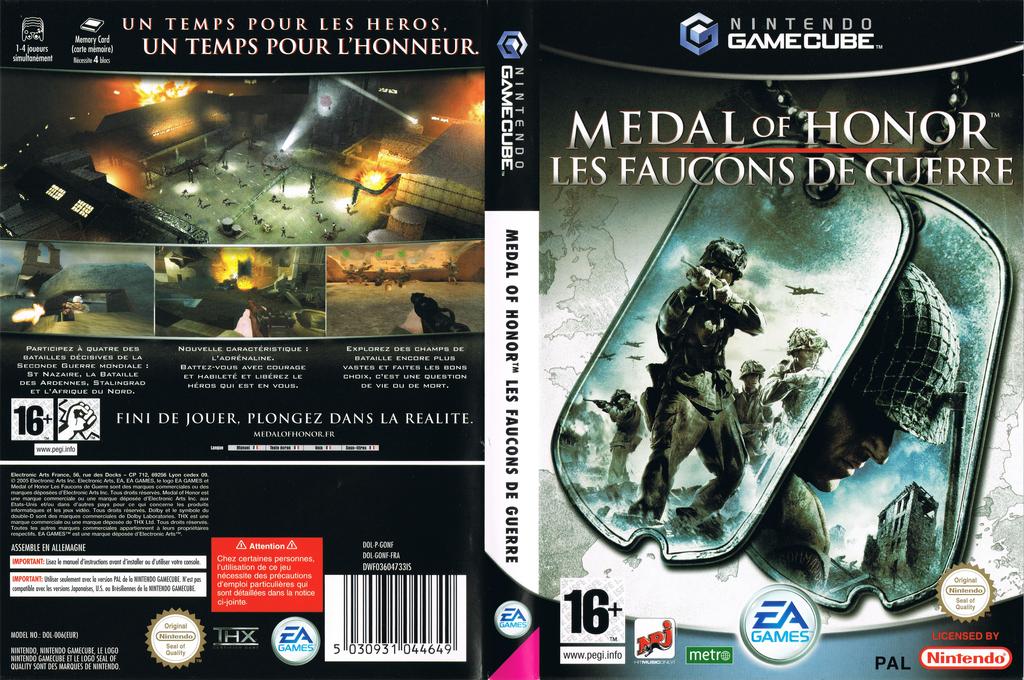 Medal of Honor:Les Faucons de Guerre Wii coverfullHQ (GONF69)
