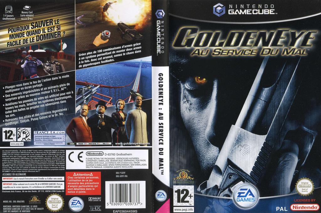 GoldenEye:Au service du Mal Wii coverfullHQ (GOYF69)