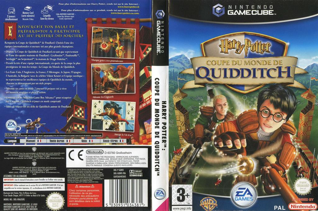Harry Potter:Coupe du Monde de Quidditch Wii coverfullHQ (GQWX69)