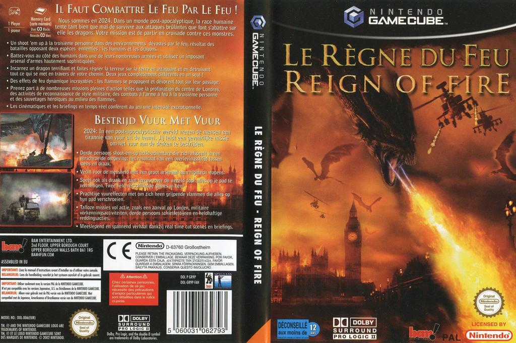 Le Règne Du Feu Wii coverfullHQ (GR9P6L)