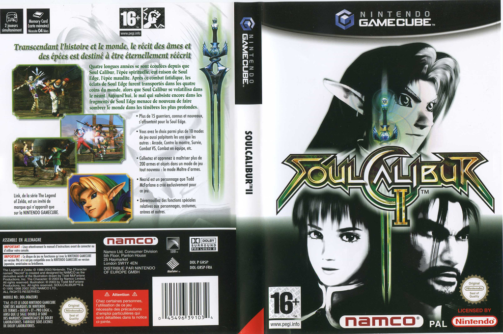 SoulCalibur II Wii coverfullHQ (GRSPAF)