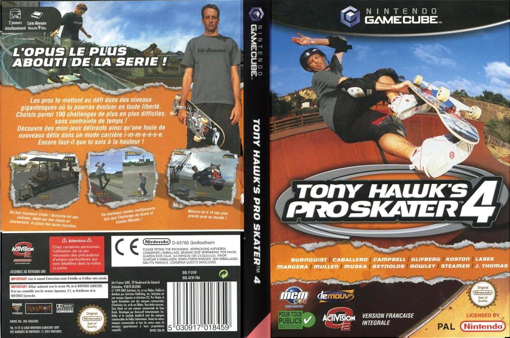 Tony Hawk's Pro Skater 4 Wii coverfullHQ (GT4F52)