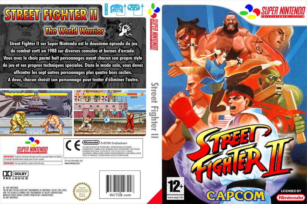 Street Fighter II:The World Warrior Wii coverfullHQ (JAJP)