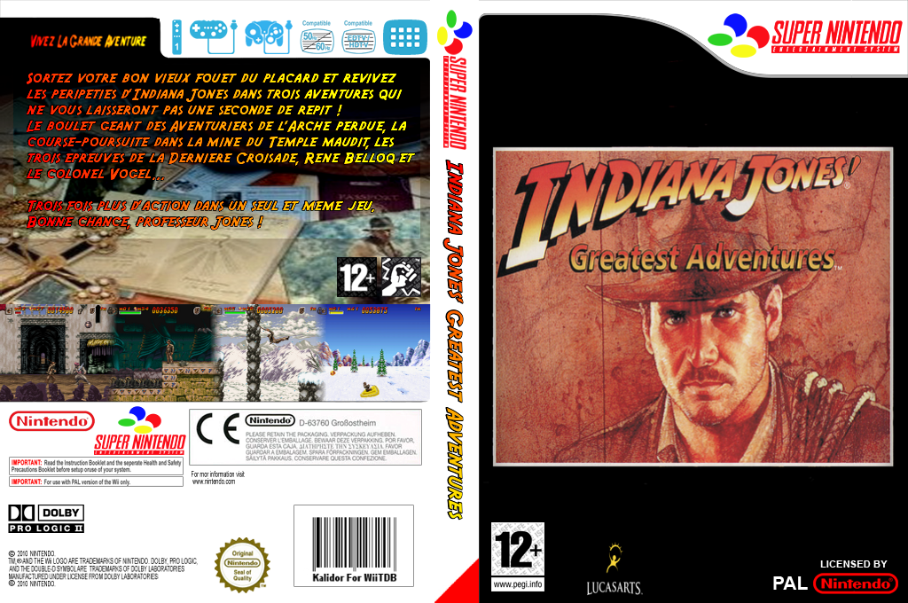 Indiana Jones' Greatest Adventures Wii coverfullHQ (JC4P)