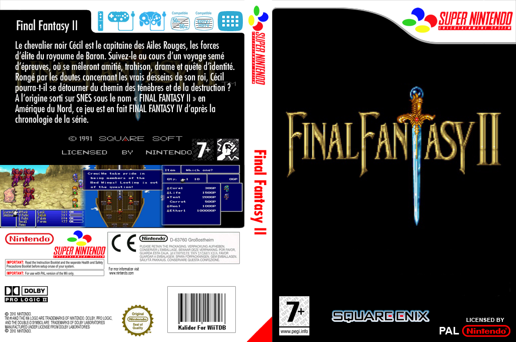 Final Fantasy 2 Wii coverfullHQ (JC8P)