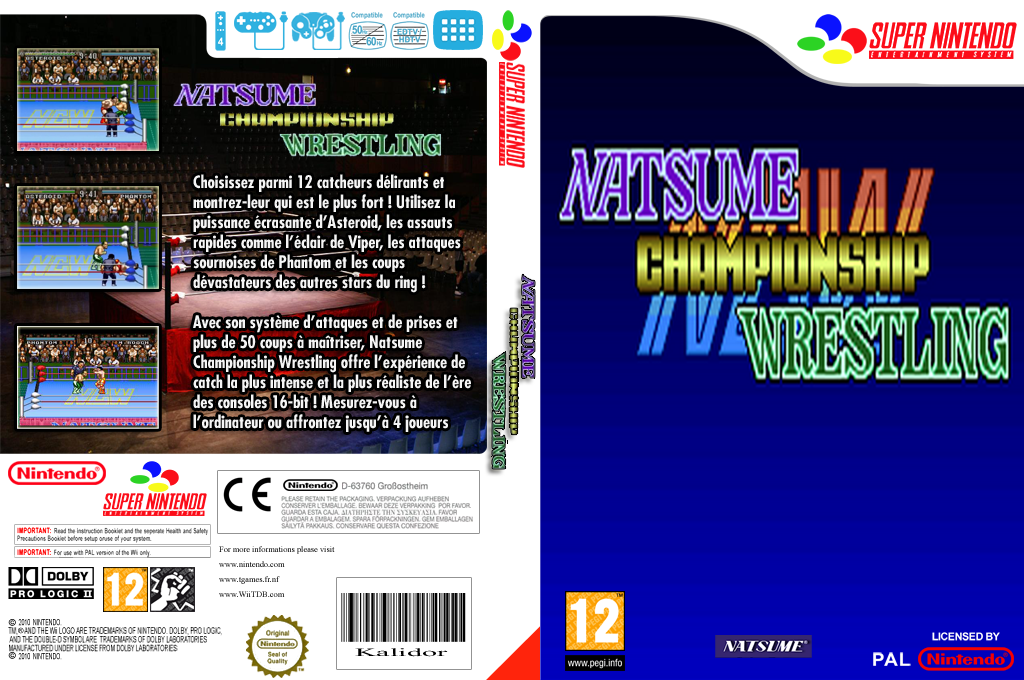 Natsume Championship Wrestling Wii coverfullHQ (JEAP)