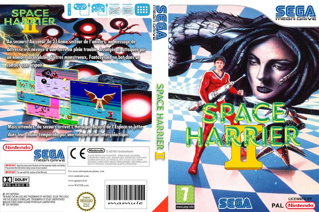 Space Harrier II Wii coverfullHQ (MAIP)