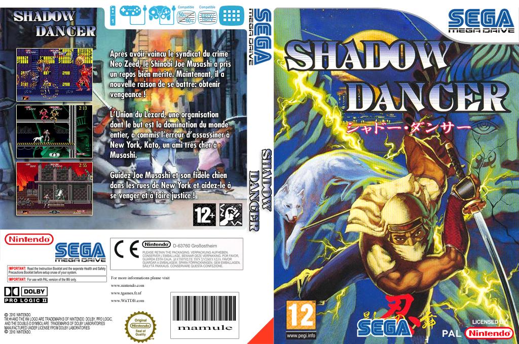Shadow Dancer : The Secret of Shinobi Wii coverfullHQ (MAKP)