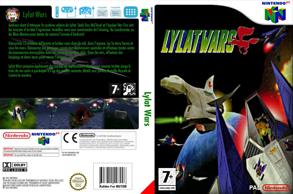 Lylat Wars Wii coverfullHQ (NADP)