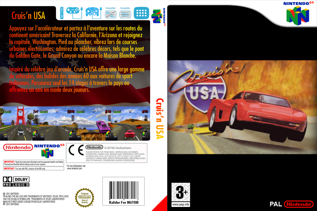 Cruis'n USA Wii coverfullHQ (NASP)