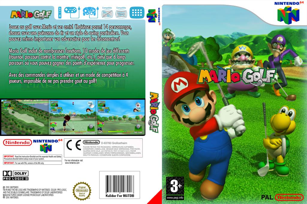 Mario Golf Wii coverfullHQ (NAUP)