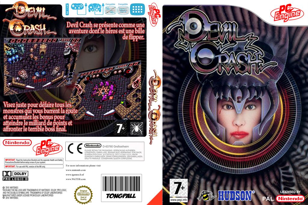 Devil Crash Wii coverfullHQ (PB3P)