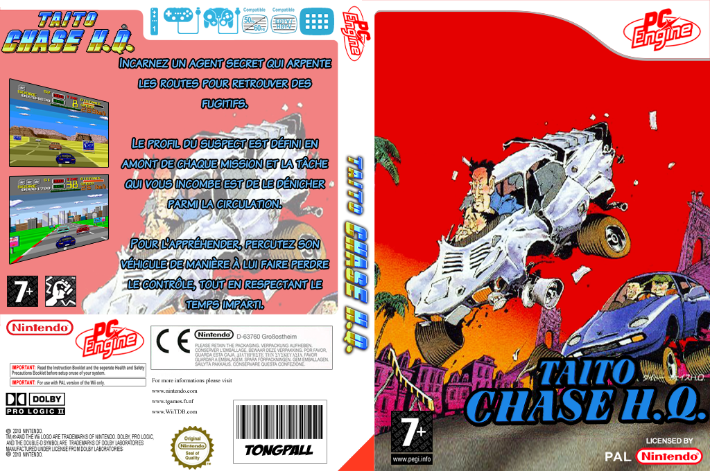 Taito Chase H.Q. Wii coverfullHQ (PC2P)