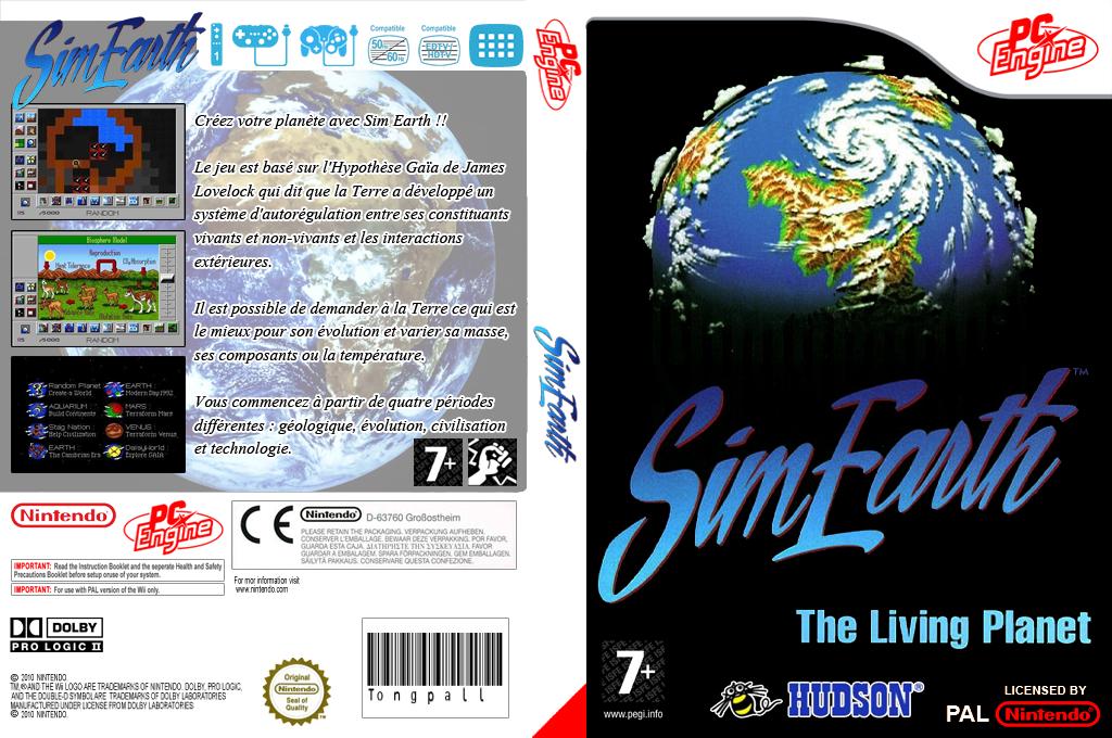 SimEarth:The Living Planet Wii coverfullHQ (QA3P)