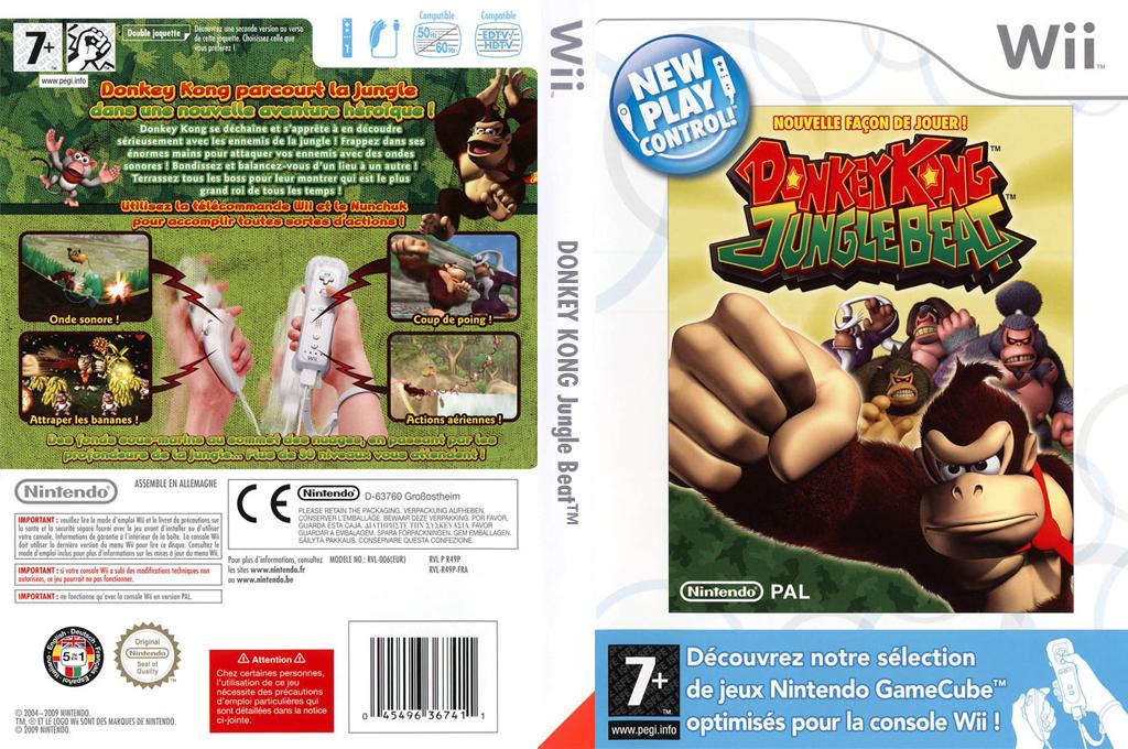 Donkey Kong:Jungle Beat Wii coverfullHQ (R49P01)