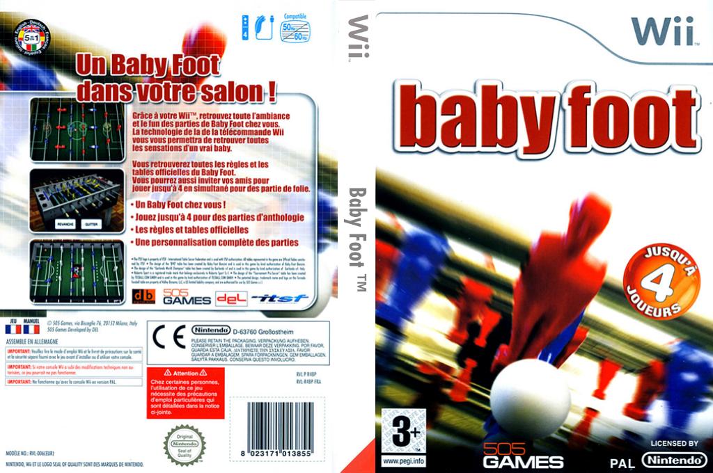 Baby Foot Wii coverfullHQ (R4BPGT)