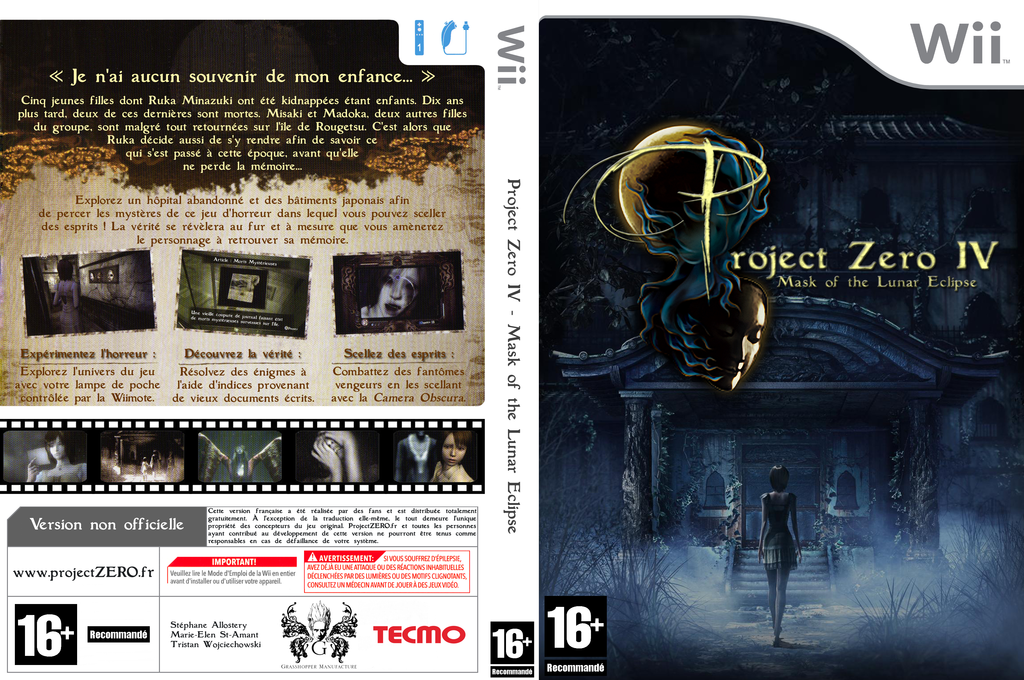 Project Zero 4 - Mask of the Lunar Eclipse Wii coverfullHQ (R4ZP01)