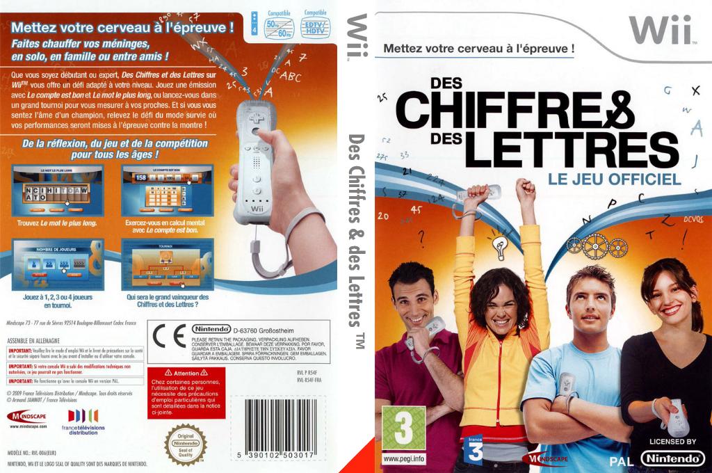 Des Chiffres & des Lettres Wii coverfullHQ (R5EPMR)