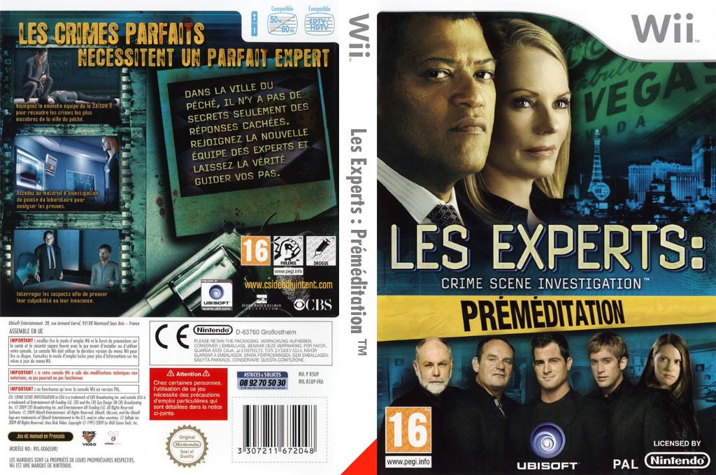Les Experts:Préméditation Wii coverfullHQ (R5UP41)