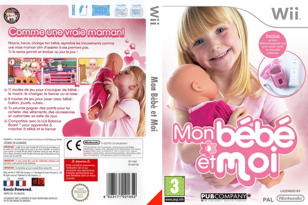 Mon Bébé et Moi Wii coverfullHQ (R6APPU)