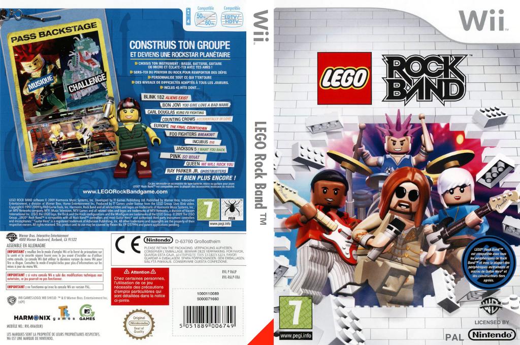 LEGO Rock Band Wii coverfullHQ (R6LPWR)