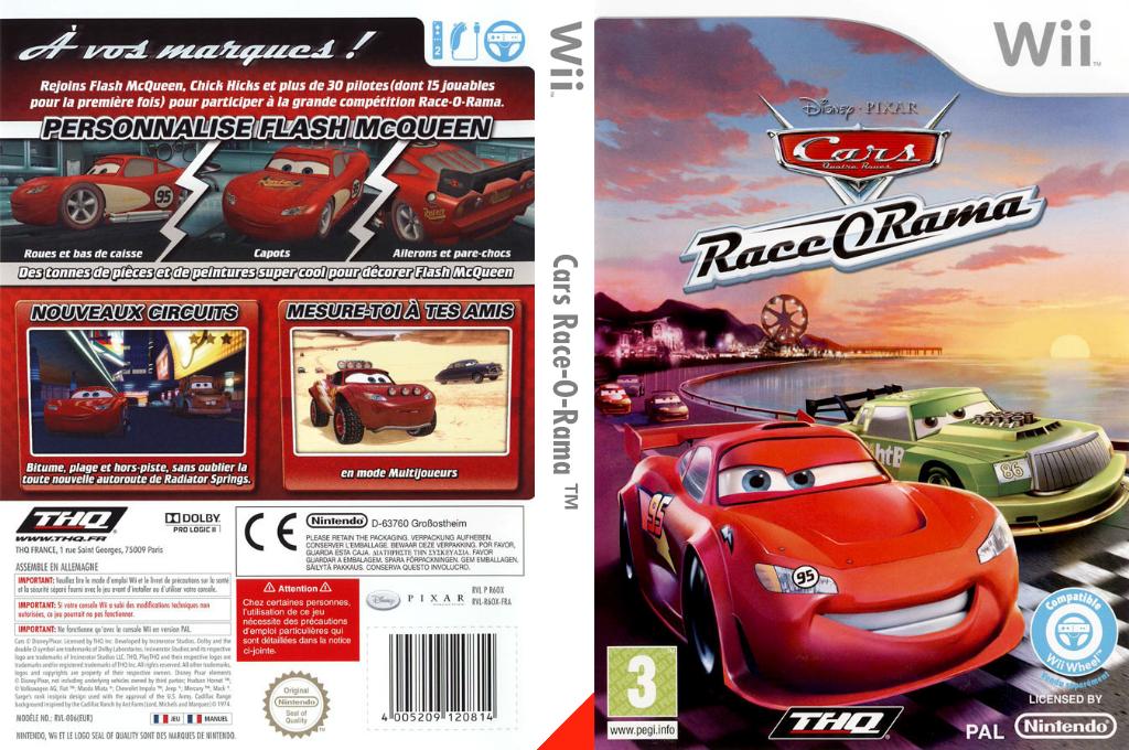 Cars Race-O-Rama Wii coverfullHQ (R6OP78)
