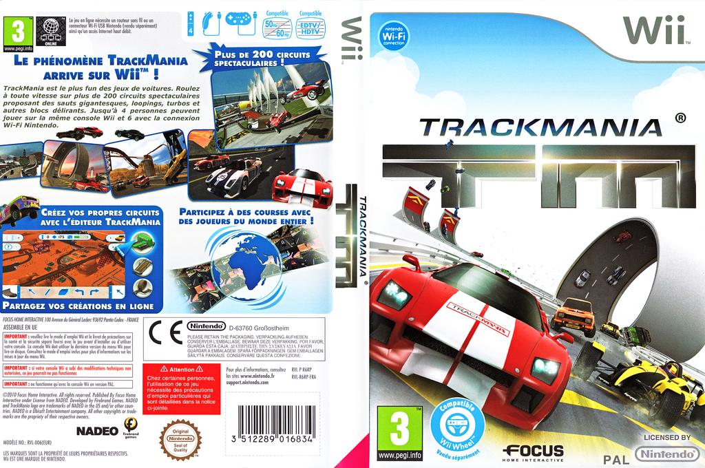 TrackMania Wii coverfullHQ (R6RPHH)