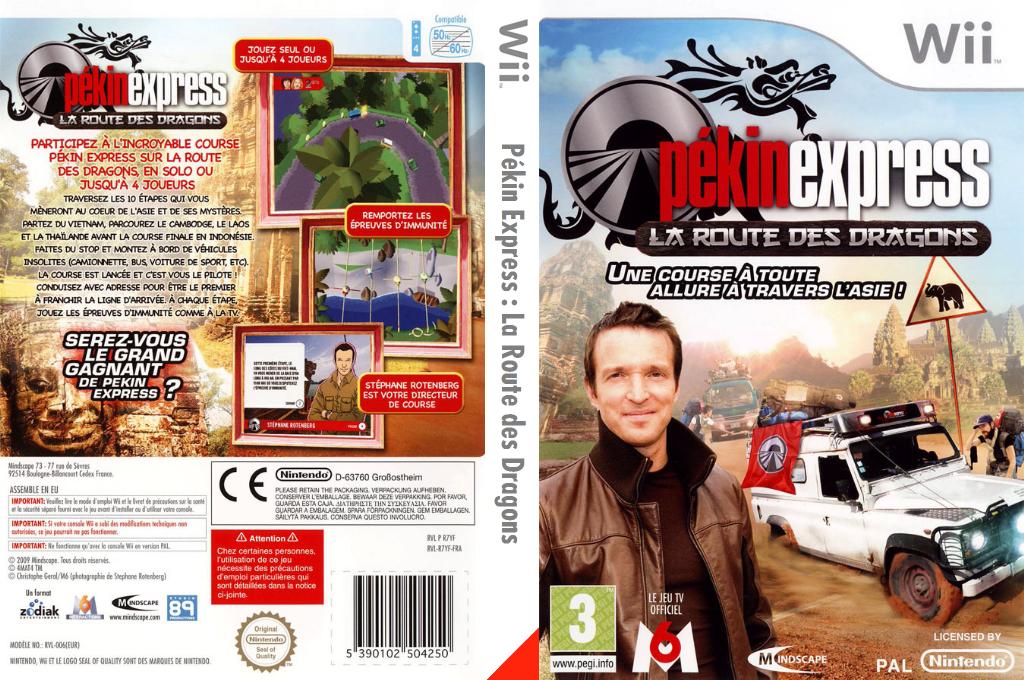 Pékin Express:La Route des Dragons Wii coverfullHQ (R7YFMR)