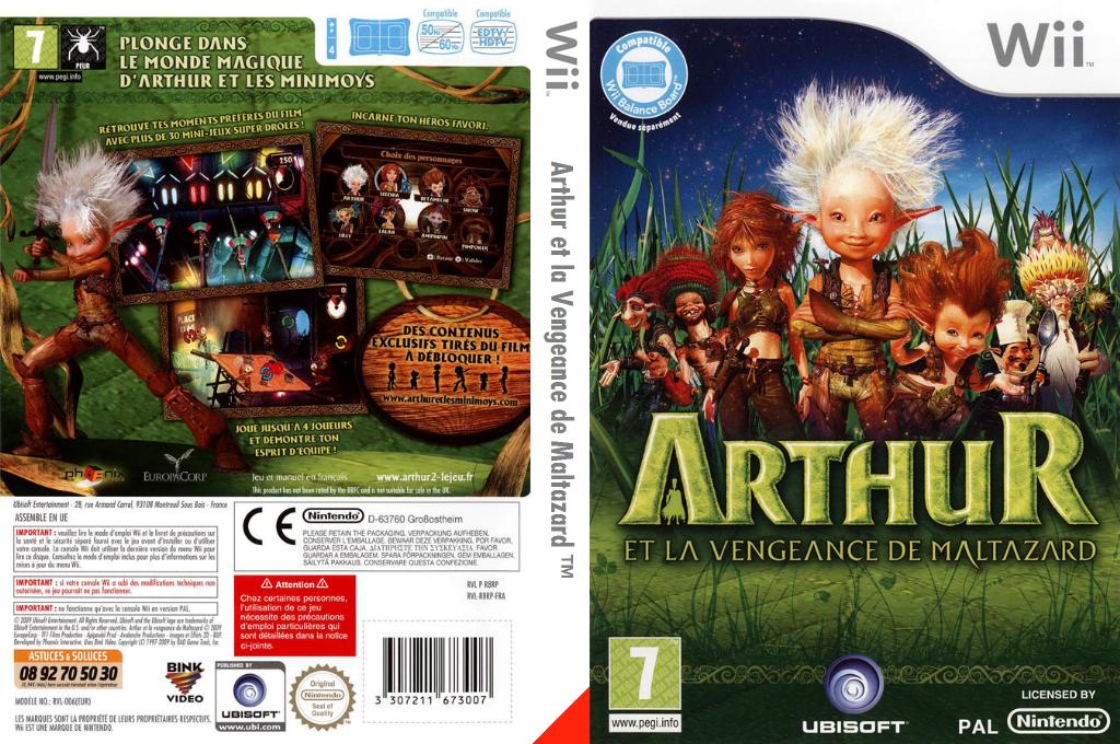 Arthur et la Vengeance de Maltazard Wii coverfullHQ (R8RP41)