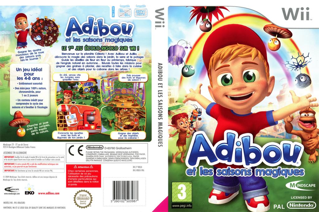 Adibou et les saisons magiques Wii coverfullHQ (R8UXMR)