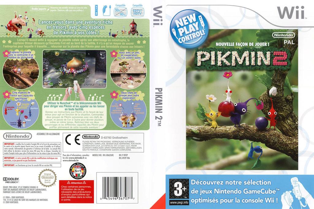 Nouvelle Façon de Jouer ! Pikmin 2 Wii coverfullHQ (R92P01)