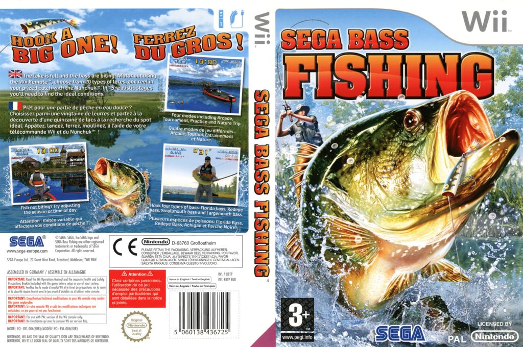 Sega Bass Fishing Wii coverfullHQ (RBTP8P)