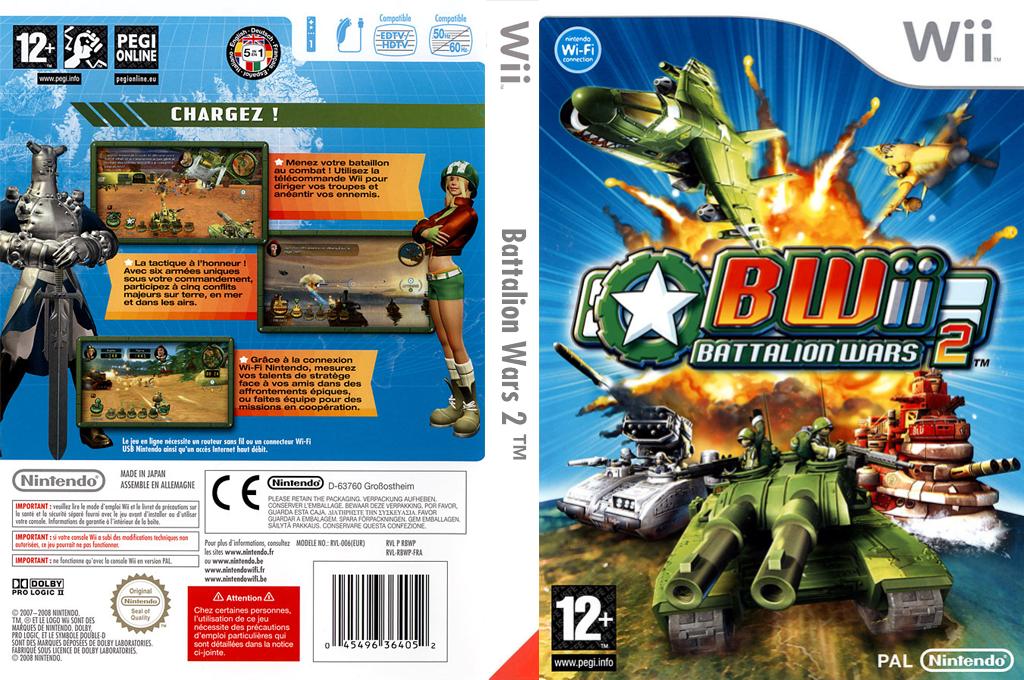 BWii:Battalion Wars 2 Wii coverfullHQ (RBWP01)