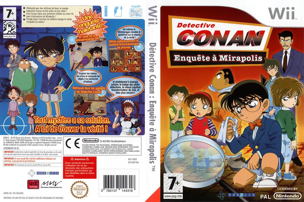 Détective Conan : Enquête Wii coverfullHQ (RCOPNP)