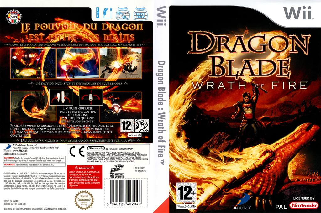 Dragon Blade:Wrath of Fire Wii coverfullHQ (RDWPG9)