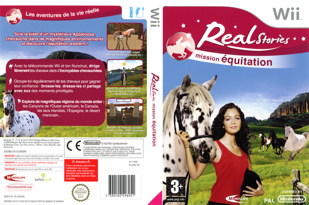 Real Stories : Mission Equitation Wii coverfullHQ (REWFMR)