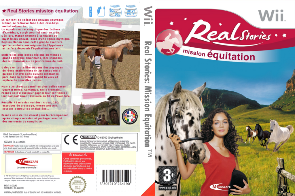 Real Stories:Mission Equitation Wii coverfullHQ (REWYMR)