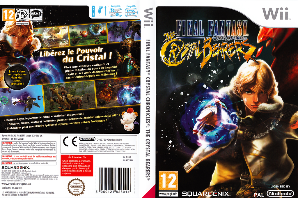 Final Fantasy Crystal Chronicles:The Crystal Bearers Wii coverfullHQ (RFCPGD)