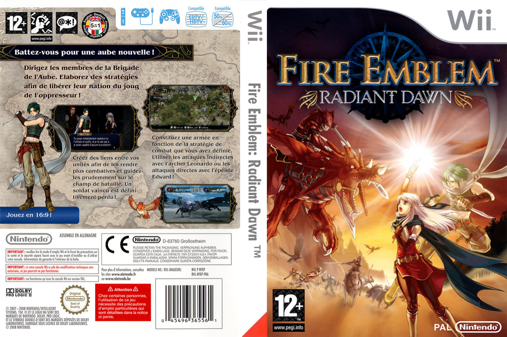 Fire Emblem : Radiant Dawn Wii coverfullHQ (RFEP01)