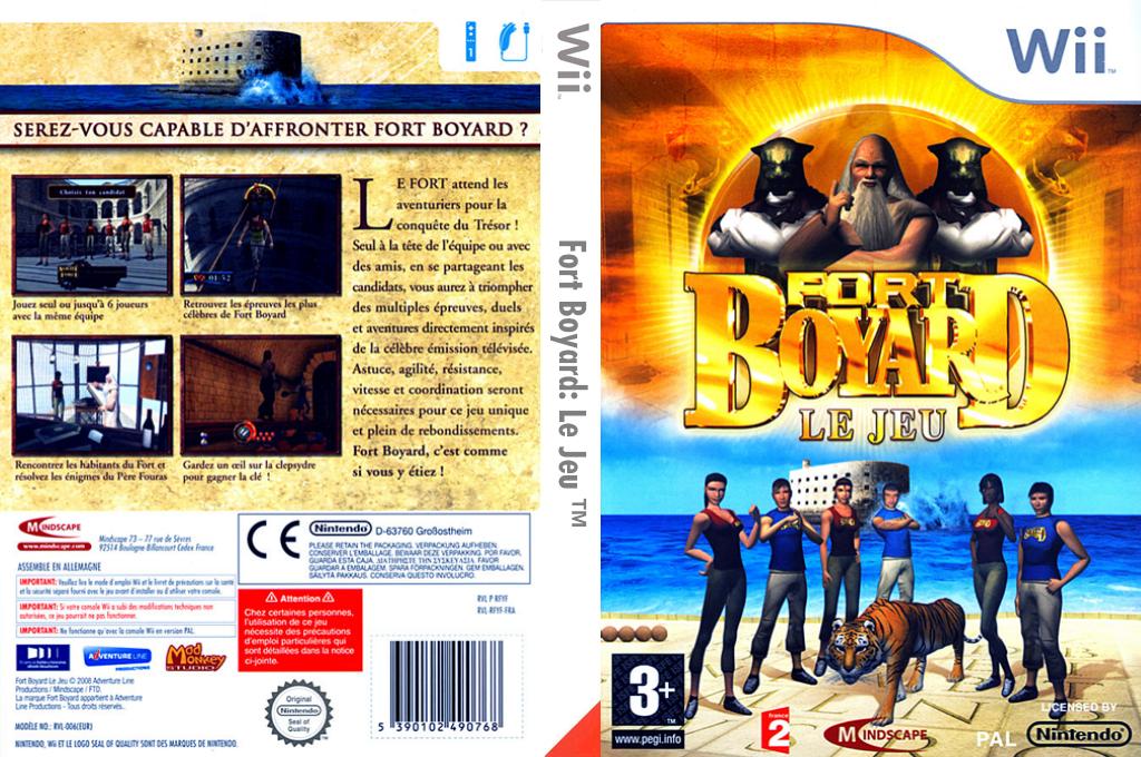 Fort Boyard:Le Jeu Wii coverfullHQ (RFYFMR)