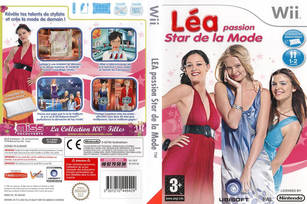 Léa Passion Star de la Mode Wii coverfullHQ (RFZP41)